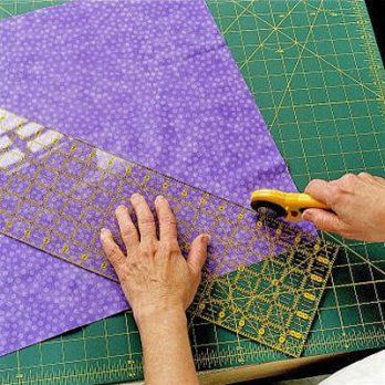 how to cut continuous bias binding