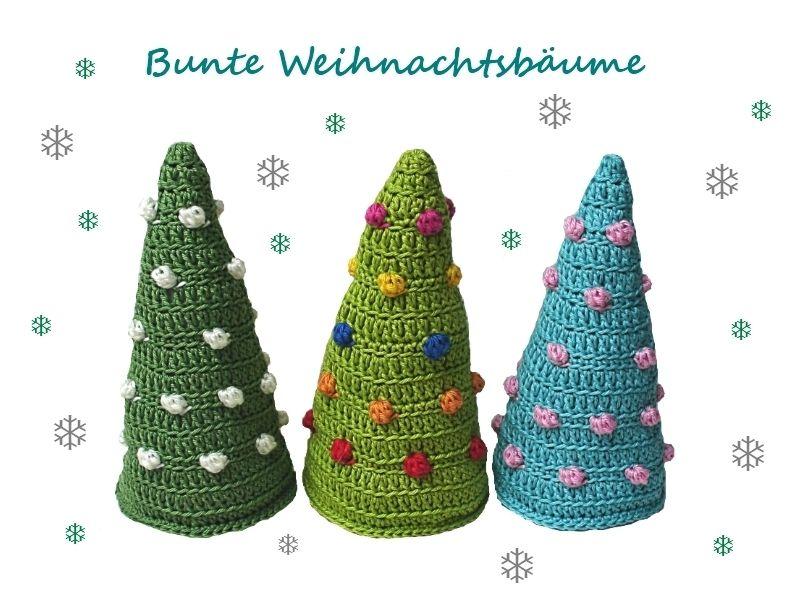 Tannenbaum Häkelanleitung Weihnachten Deko Von Elealinda Design