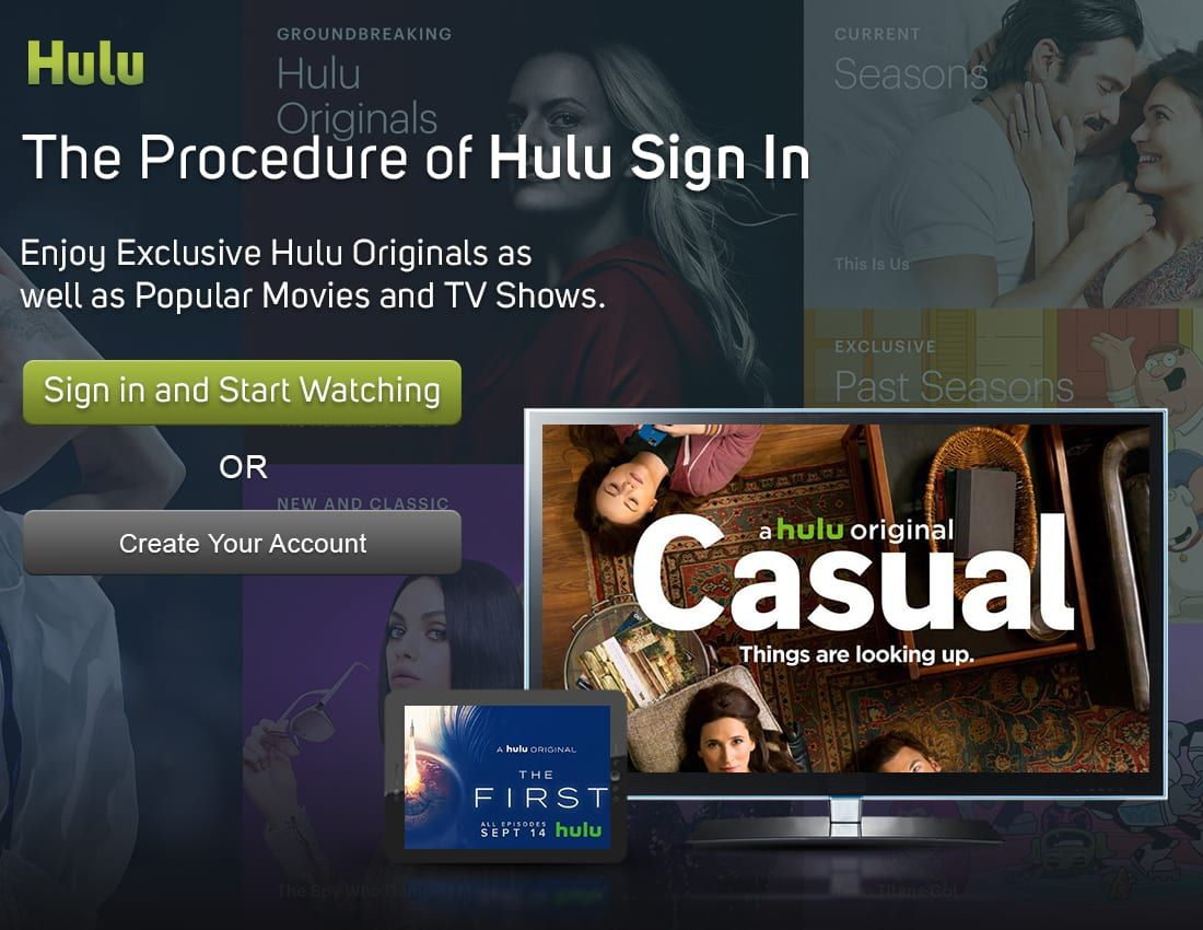 Hulu Sign In in 2020 Tv connect, Live tv, Entertainment