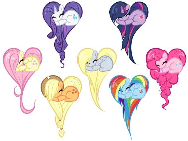 my little pony | Dibujos de Personajes de My Little Pony para ...
