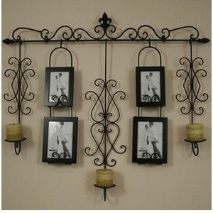 Large Wall Decor - Large Wrought Iron Wall Decor - Iron Wall ...