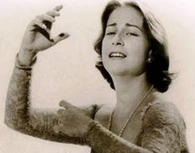 Chabuca Granda Compositora Y Cantante Peruana Vintage Movie Stars Vintage Movies Movie Stars