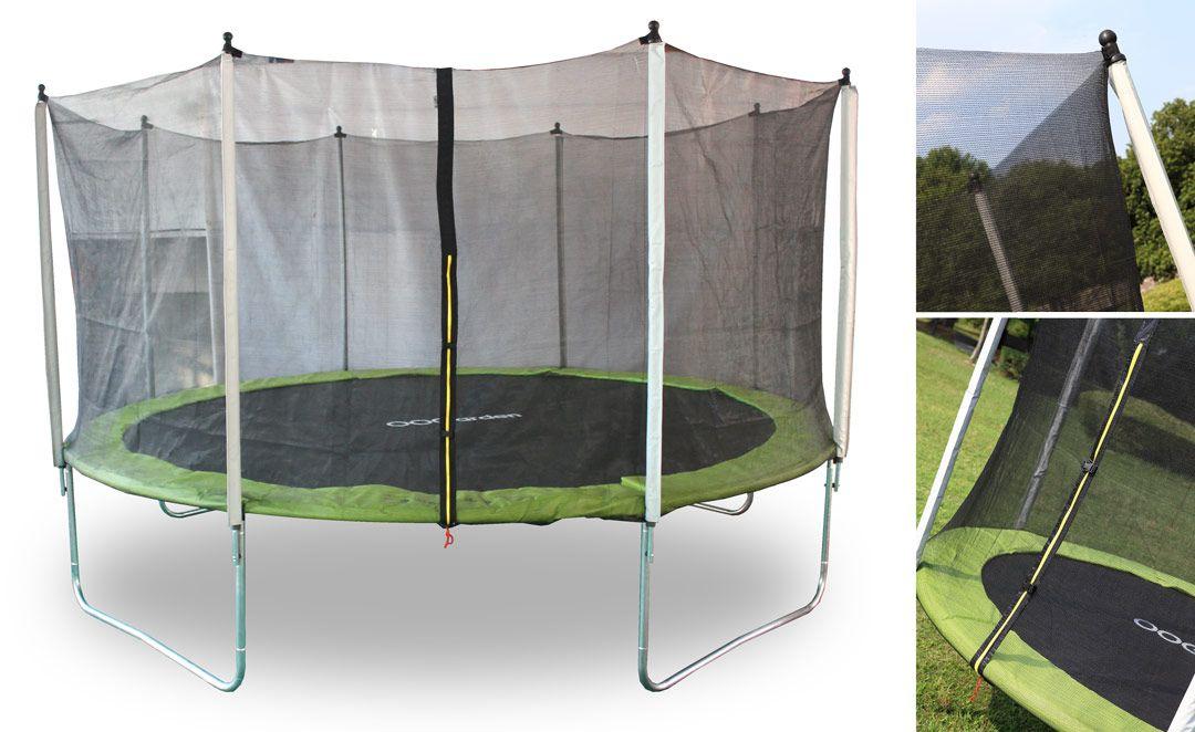 Trampolin Zebulon 430 Sport Sportfuralle Garten Aussenmobel Trampoline Trampolin