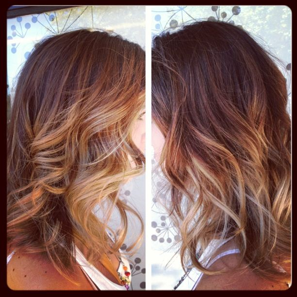 Pin By Kerry Dow On Great Hair Tricks And Tips: #Balayage Beauty #HairStyles #HairColor