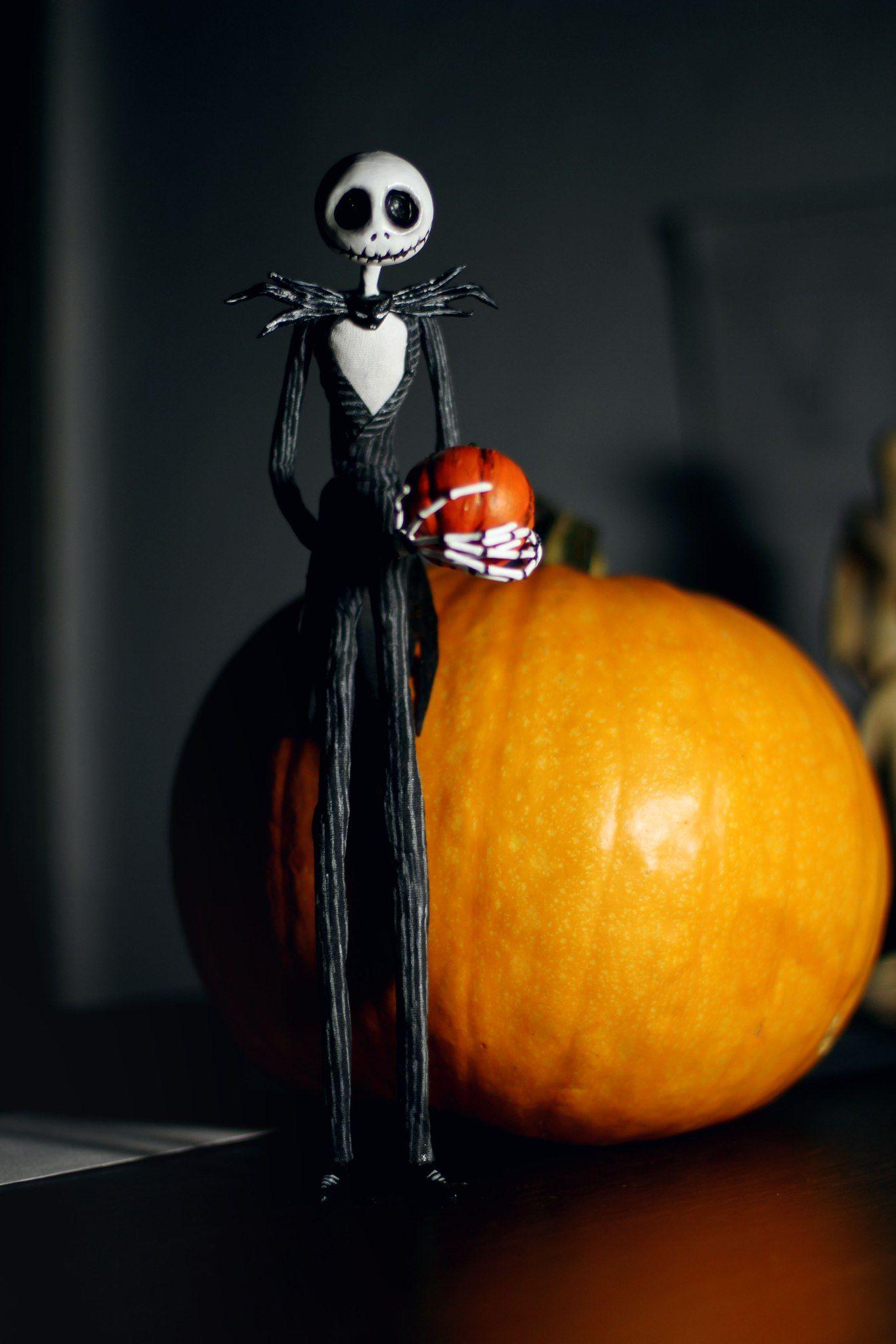 """МК по созданию Джека из мультфильма """"Кошмар перед ..."""
