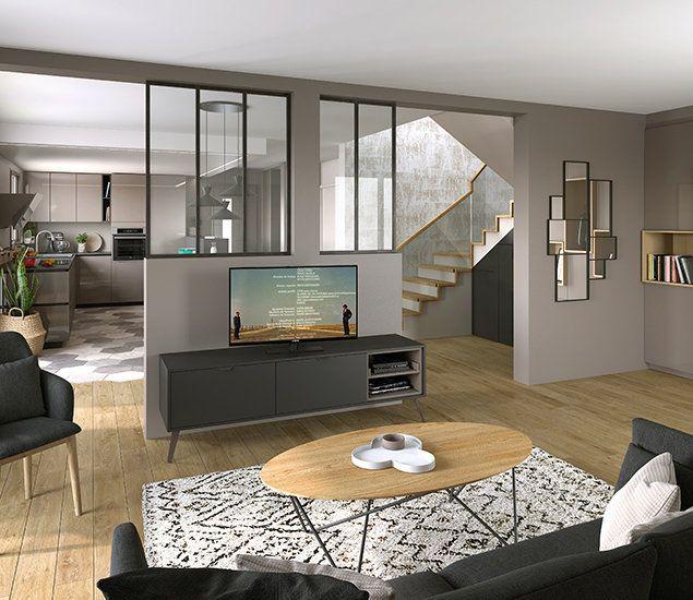Ambiance moderne mobilier de salon mobalpa et meuble Chaise mobalpa