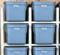 studio 5 pvc bin storage organizer pinterest bin storage rh pinterest com
