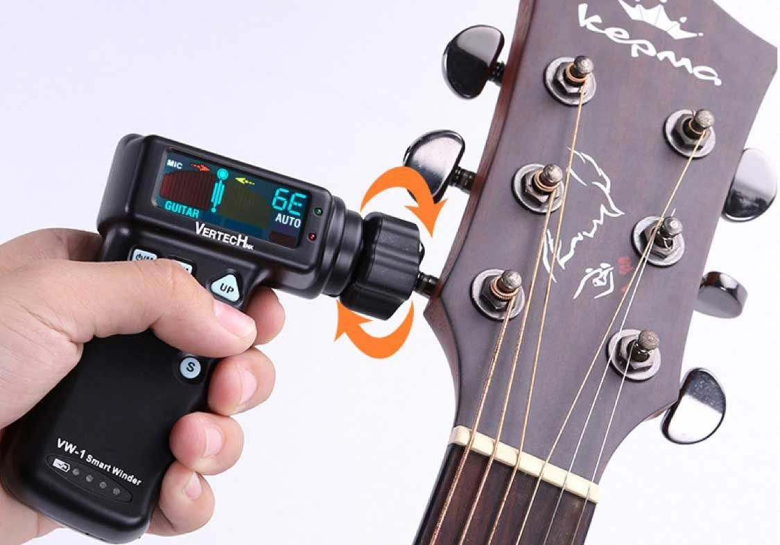 how to tune a 12 string guitar with electronic tuner