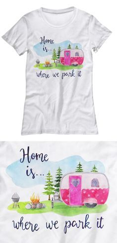 Are You An Rver Or A Rubber Tramp Love To Wander Tell The World With This Adorable Camper Tee Camping Trailer Camping Fun Camping
