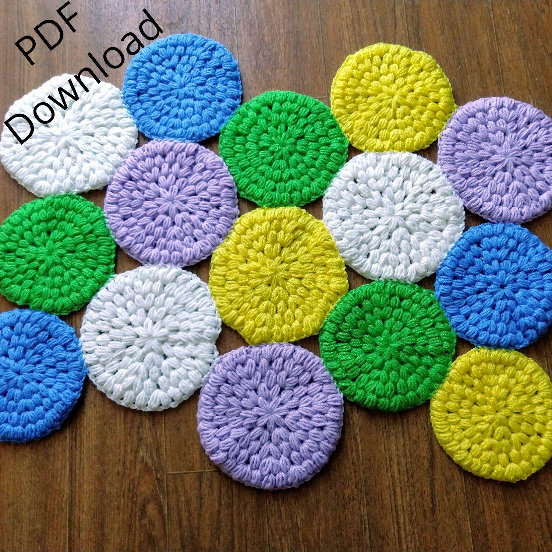 Crochet rug hexagon shape nursery rug bathroom decor handmade with love