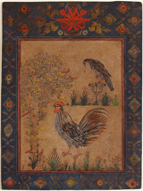 Decoupage / Islamic art / 17th century