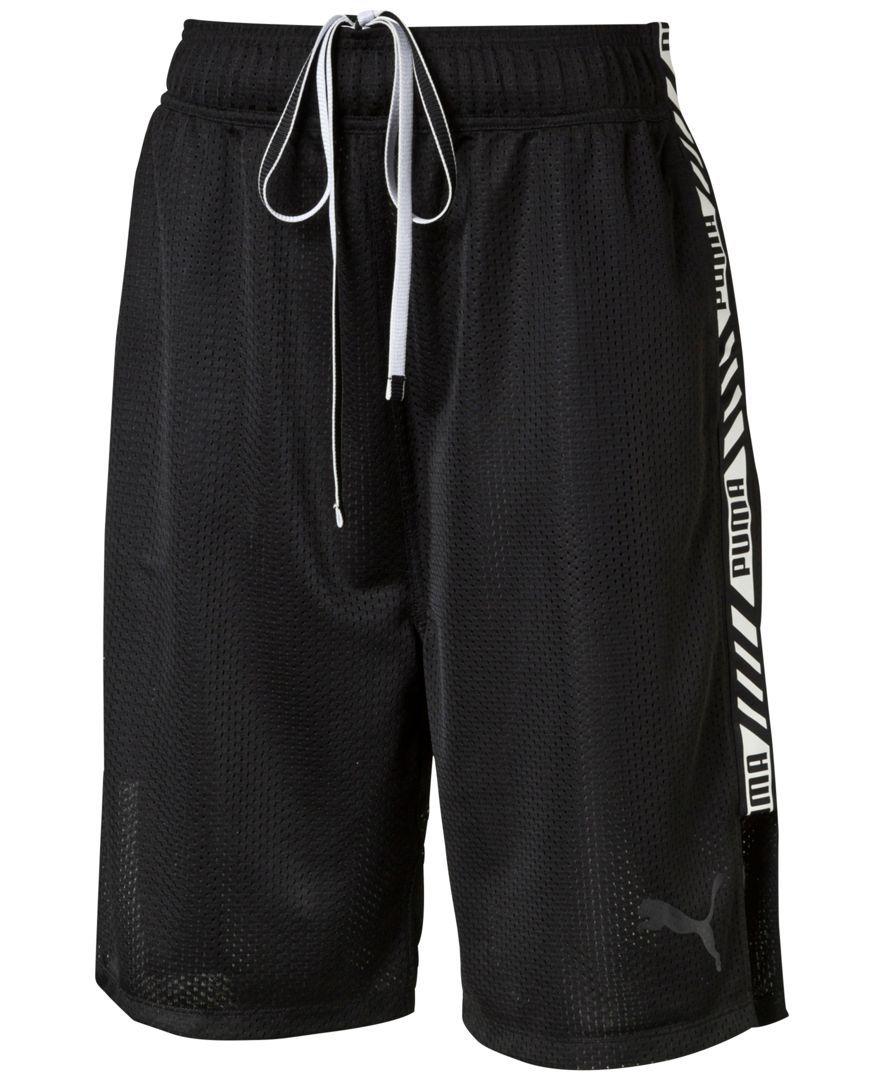 Puma Mesh Boxing Shorts Boxing shorts, Womens shorts