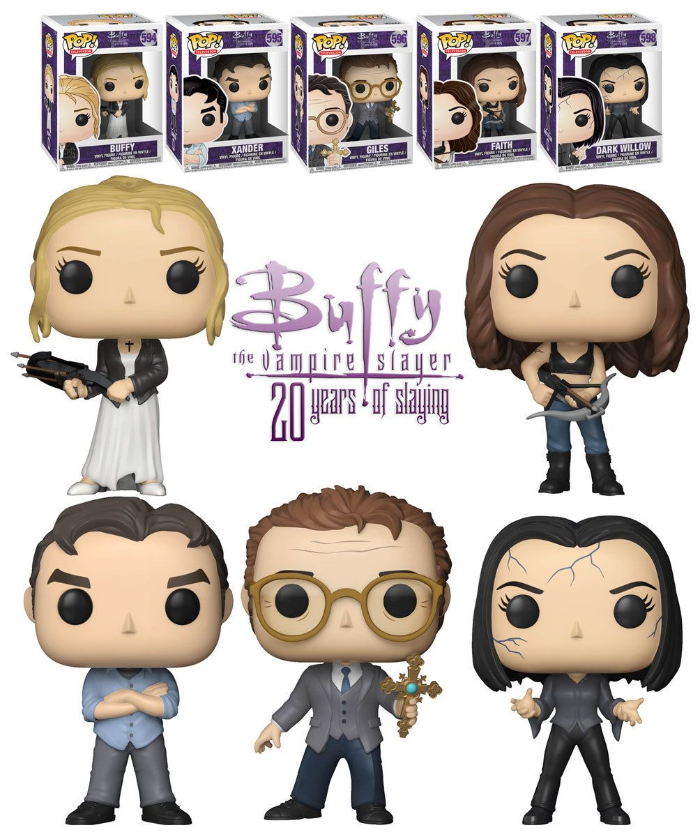 Funko Pop Television Buffy The Vampire Slayer 20 Years Of Slaying Bundle 5 Pops New Mint Buffy The Vampire Slayer Funko Buffy
