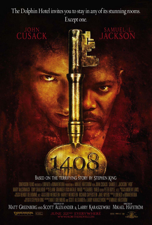 1408 (2007) Movie Review Stephen king movies, Kings