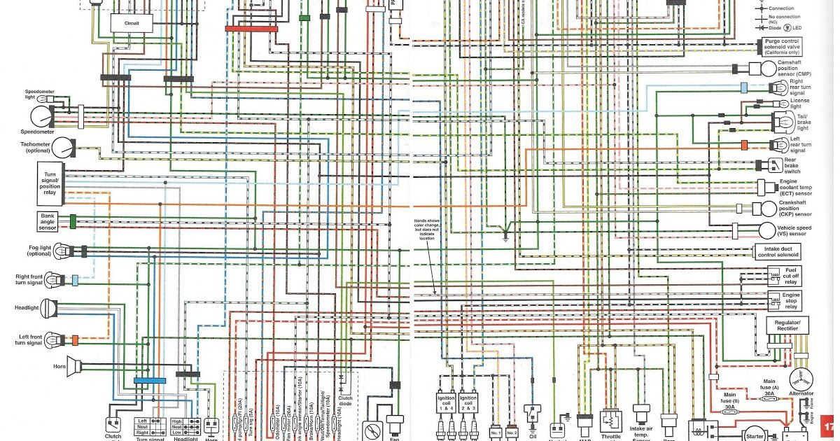 Vtx1300c Wiring Diagram Throughout Vtx 1300 With Images Clean
