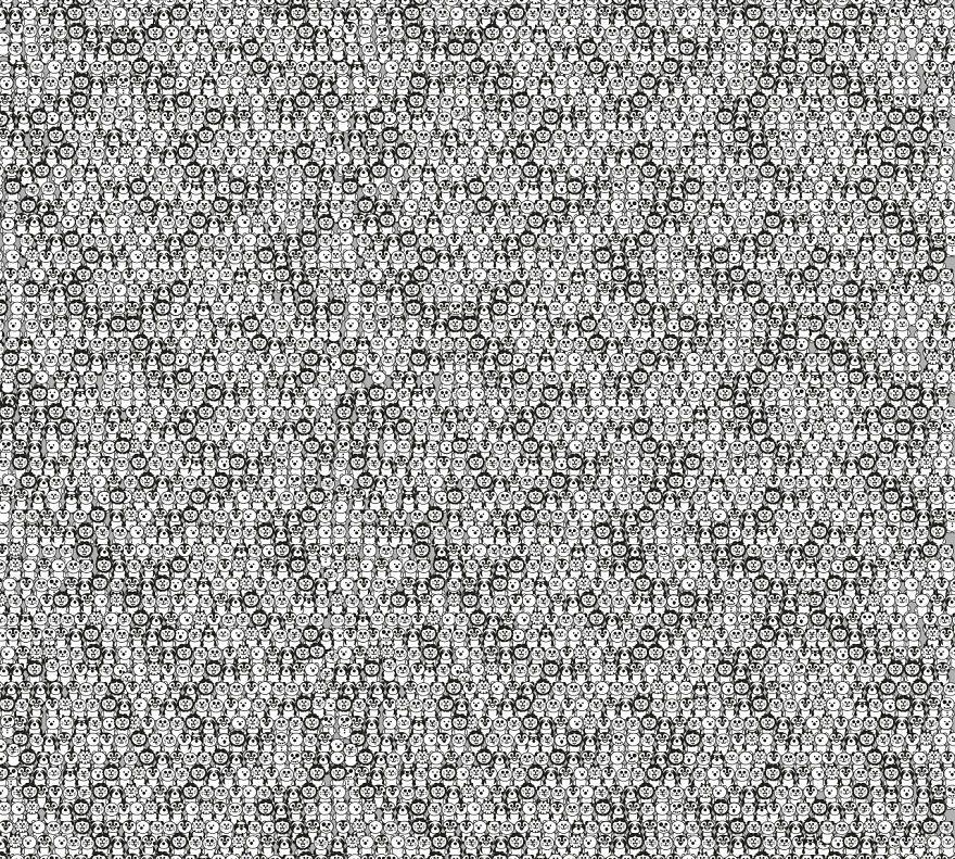 Картинка со скрытыми лицами