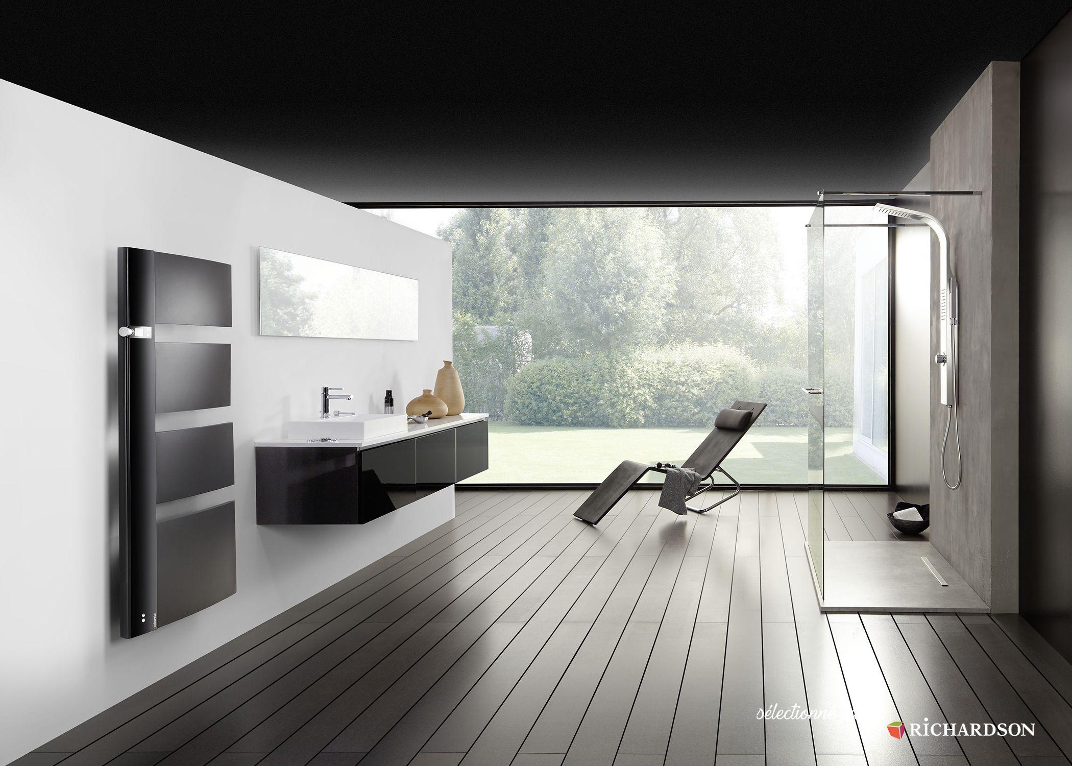 systeme audio salle de bain s che serviettes avec enceintes int gr es atlantic