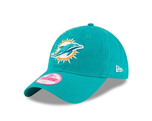 promo code b40a4 bf3b3 NFL Miami Dolphins Womens Team Glisten LS 9TWENTY Adjustable Cap One Size  Teal -- For more information, visit image link.