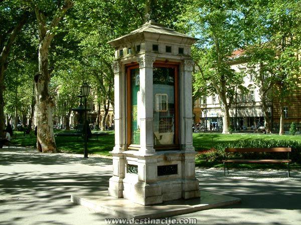 Zrinjevac Zagreb Croatia Zagreb Croatia