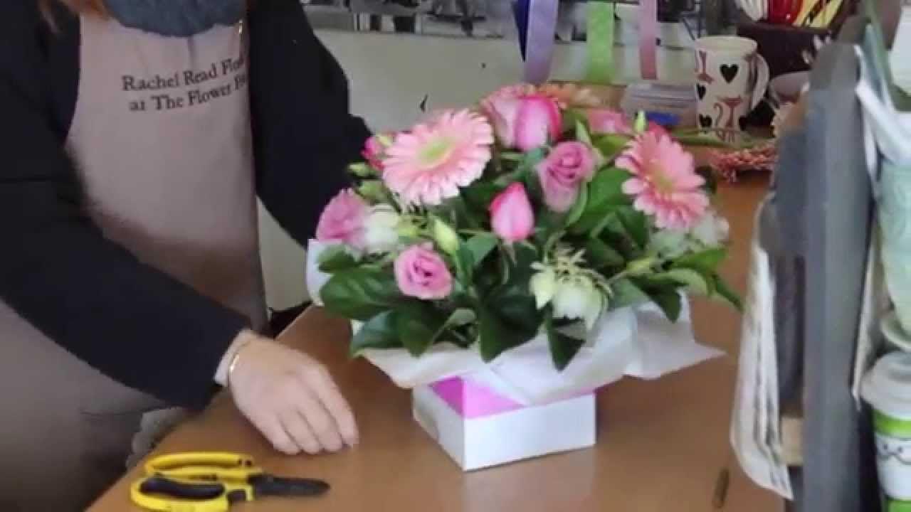 Mazzi Di Fiori Youtube.How To Create A Flower Box Arrangement Youtube Composizioni