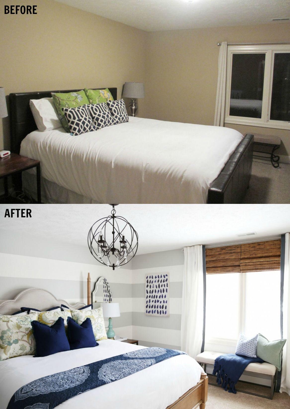 Sarah Stewart S Serene Blue Guest Bedroom Guest Bedroom Makeover Small Master Bedroom Remodel Bedroom Guest bedroom our new home in concord