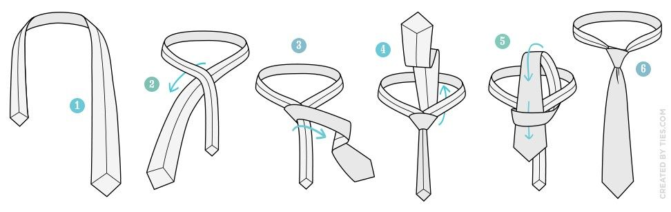How to tie a simple knot tie just random stuff pinterest how to tie a simple knot tie ccuart Gallery