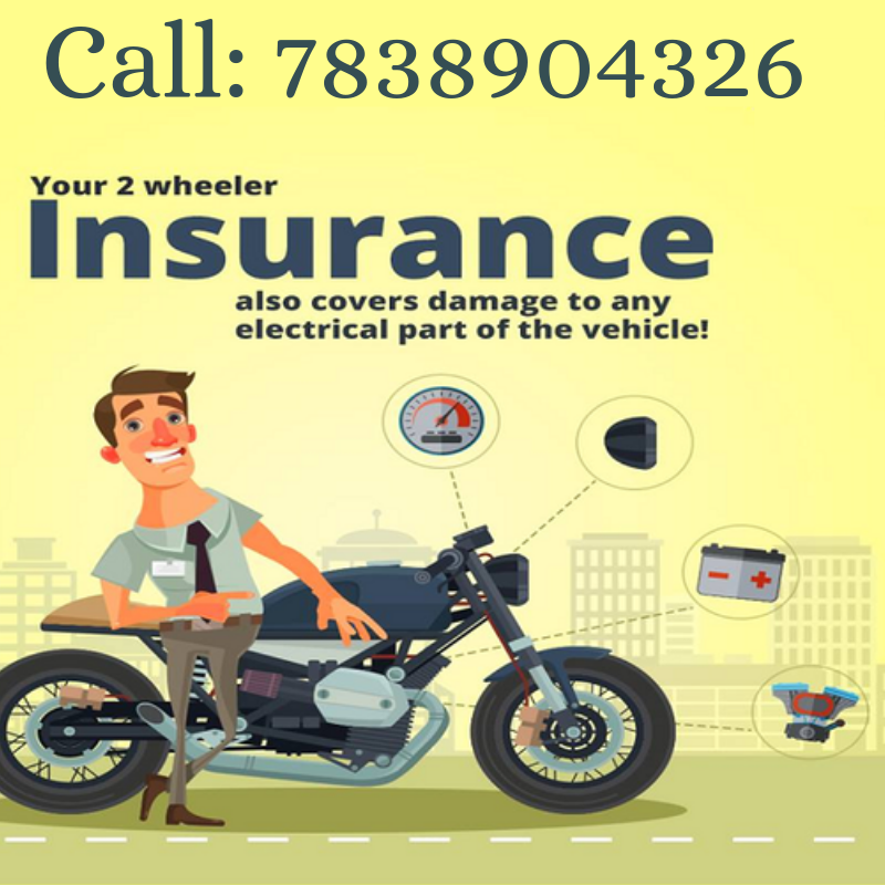 Your 2 Wheeler Insurance Also Covers Damage To Any Electrical Part
