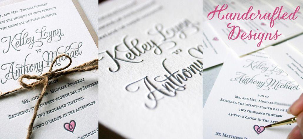 Custom Made Invitations | Handmade Unique Wedding Invitations ...