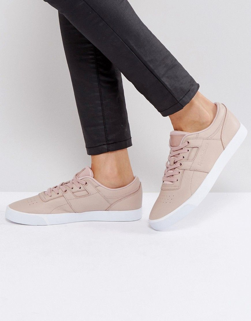 Reebok Classic WORKOUT CLEAN - Trainers - pink e6jff