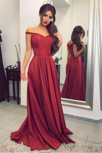 Formal Dresses with Off Shoulder Strap