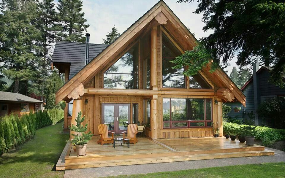 Custom Cedar Log Homes Luxury Cottage Floor Plans Architectural Design Services Town Country Town And Coun Log Homes Exterior Log Homes Log Cabin Homes