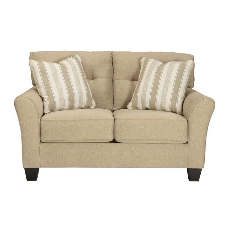 Sofa de 3 puestos y 2 puestos Ashley Furniture Laryn color Kakhi ...