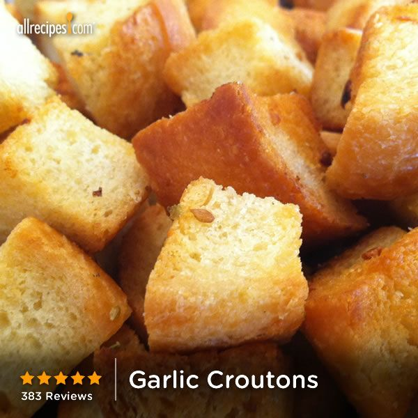 """Garlic Croutons 