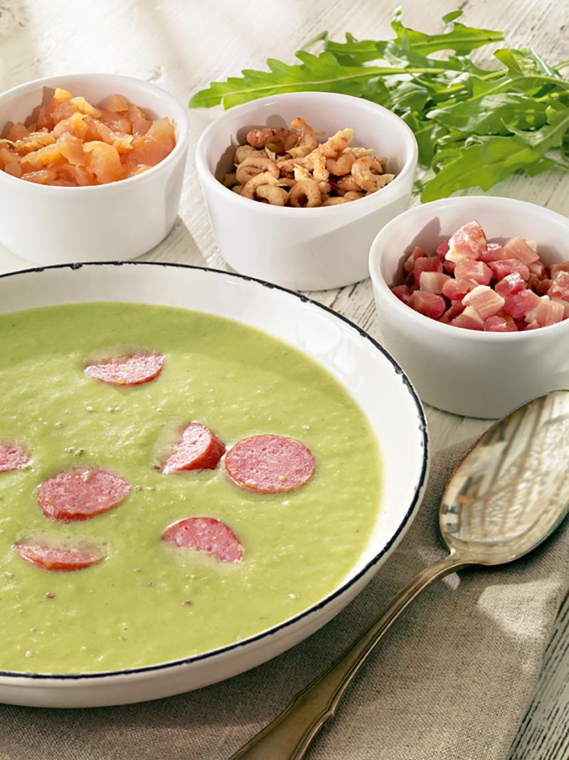 Leichte Erbsen-Kartoffel-Suppe   Rezept   Kochrezepte: nach Regionen ...