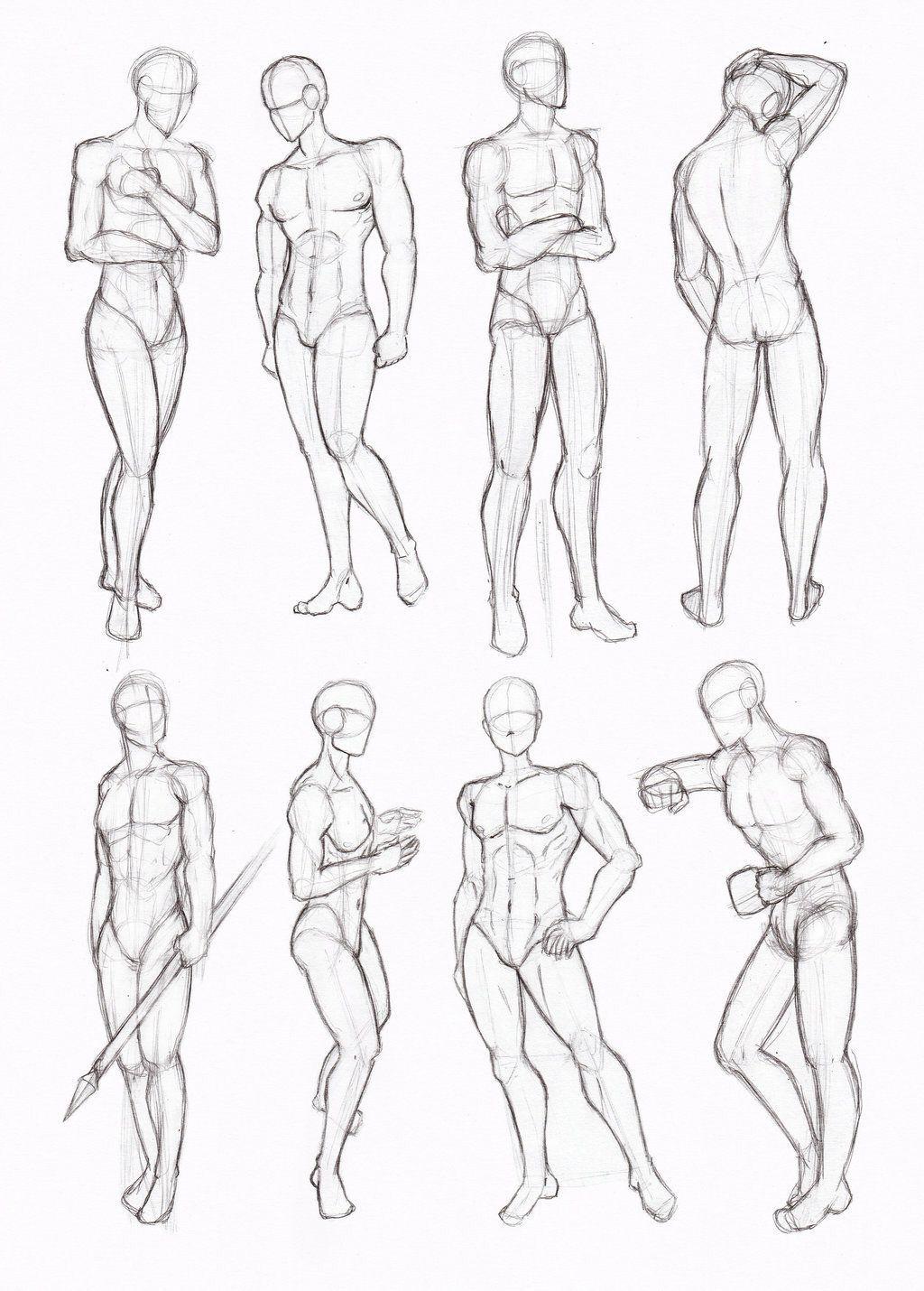Pin von Isabelle Czwodzinski auf Drawing Reference: People ...