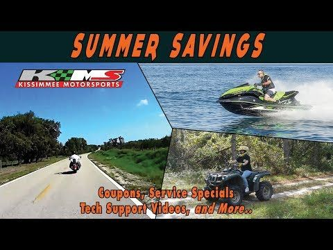 SUMMER SAVINGS  - Powersports Coupons, Service Specials Tech Support and More! - (More info on: http://LIFEWAYSVILLAGE.COM/coupons/summer-savings-powersports-coupons-service-specials-tech-support-and-more/)
