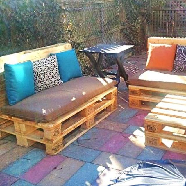 Buy Wooden Pallet Sofa For Sale / Rental in Singapore ...