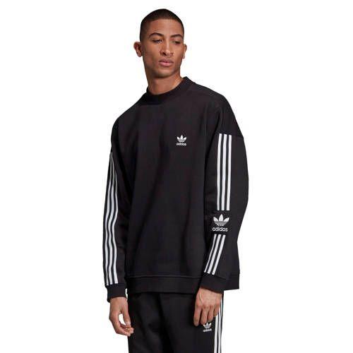 Adicolor sweater zwart in 2020 Crew sweatshirt