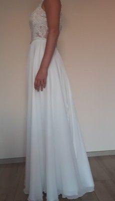67d8914ed1 Suknia ślubna 36 38 ivory. GRATIS BOLERKO I WELON