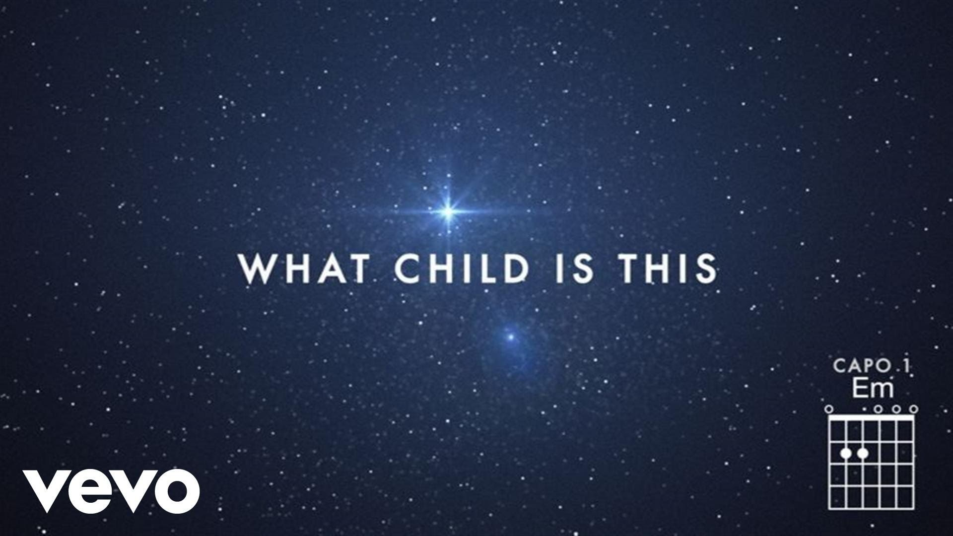 """""""What Child Is This"""", Chris Tomlin & All Sons & Daughters"""