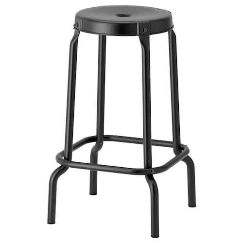 Raskog Tabouret De Bar Noir 63 Cm Tabouret De Bar Noir Tabouret Et Raskog Ikea