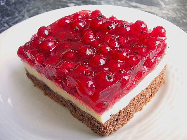 Rezeptwelt Johannisbeerkuchen Mit Schmand Pudding Creme Backen