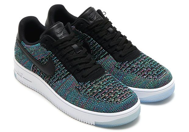 Nike Air Force 1 Low Flyknit Multicolor 817419 002 | Nike