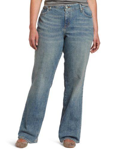db64bdd69733b Levi`s Women`s Plus-Size 580 Defined Waist Boot Cut Regular Fit Jean ...