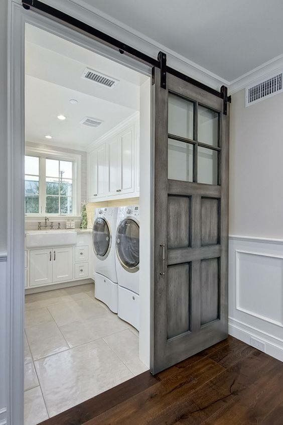 Laundry Room Organization Ideas Makeover White Small Farmhouse Diy