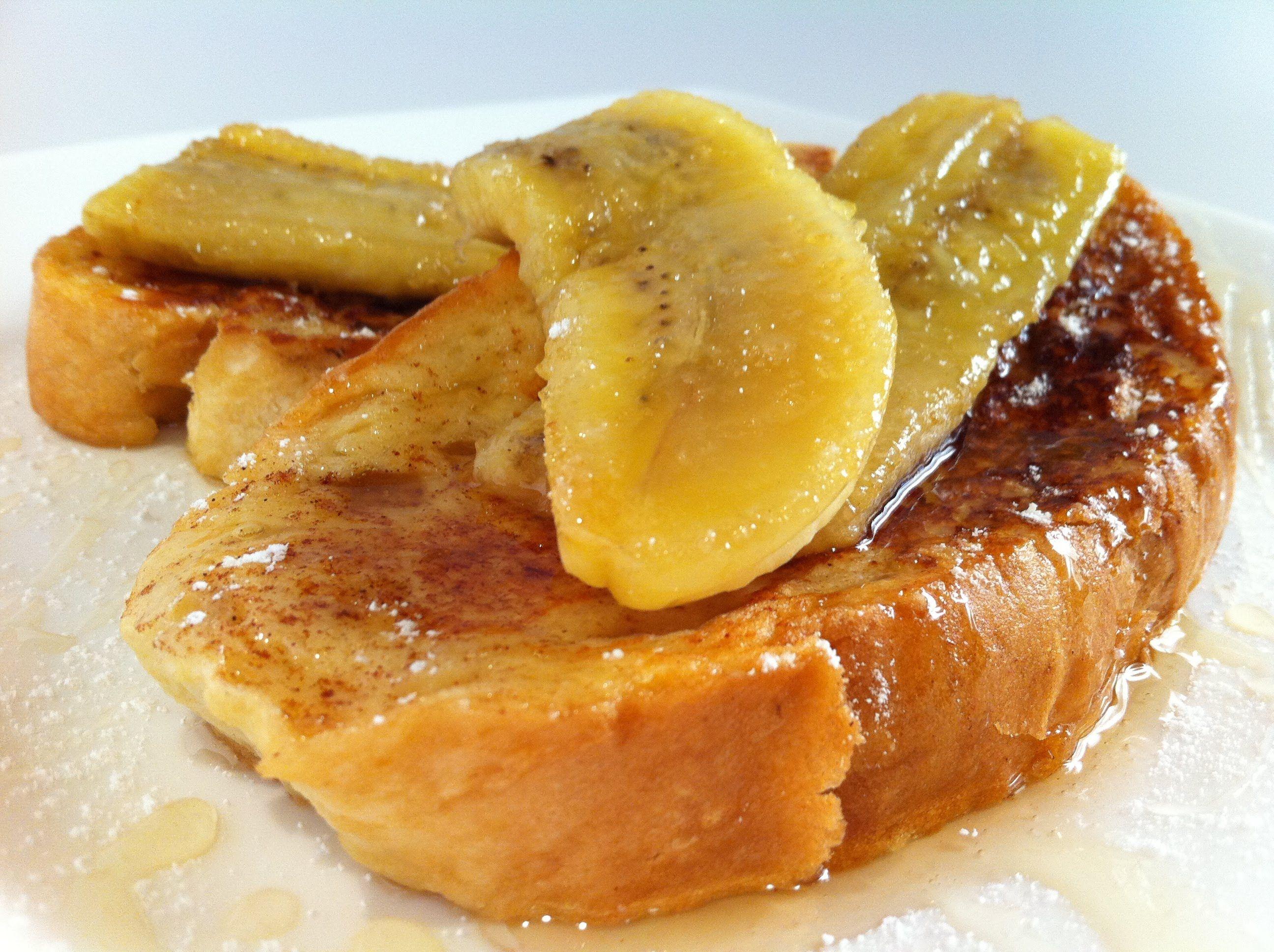 FRENCH TOAST: Cinnamon & Banana (+playlist)