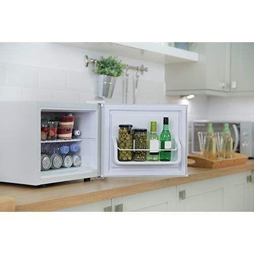 Mini Table Top Fridge Portable Bedroom Compact White Counter Small - Small table top refrigerator