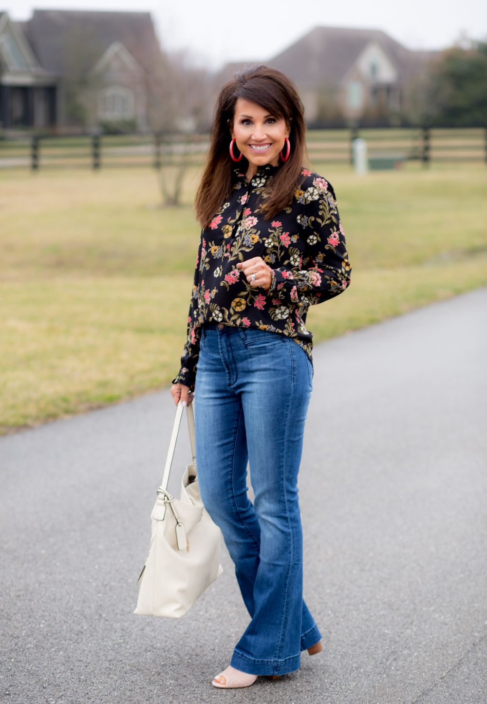 2193140369 Floral and Flares for Spring Fashion Well