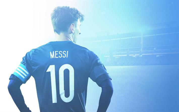 Download wallpapers Lionel Messi, fan art, FC Barcelona, FCB, football stars, La Liga, Spain, Barca, Messi, Barcelona, Leo Messi