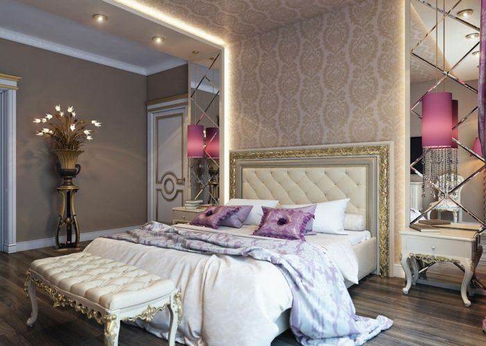 Ides Pour La Dcoration DUne Chambre Gris Et Violet